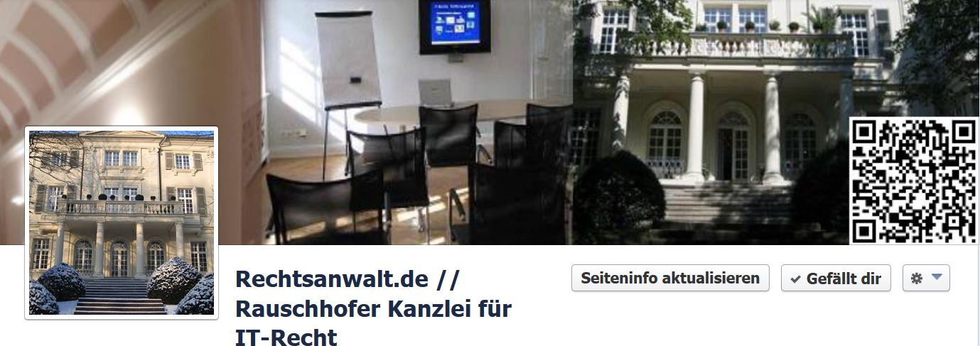 Facebook-Impressum: Verlinkung im Info-Reiter soll nicht ausreichen