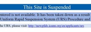 Domain-Recht Uniform Rapid Suspension