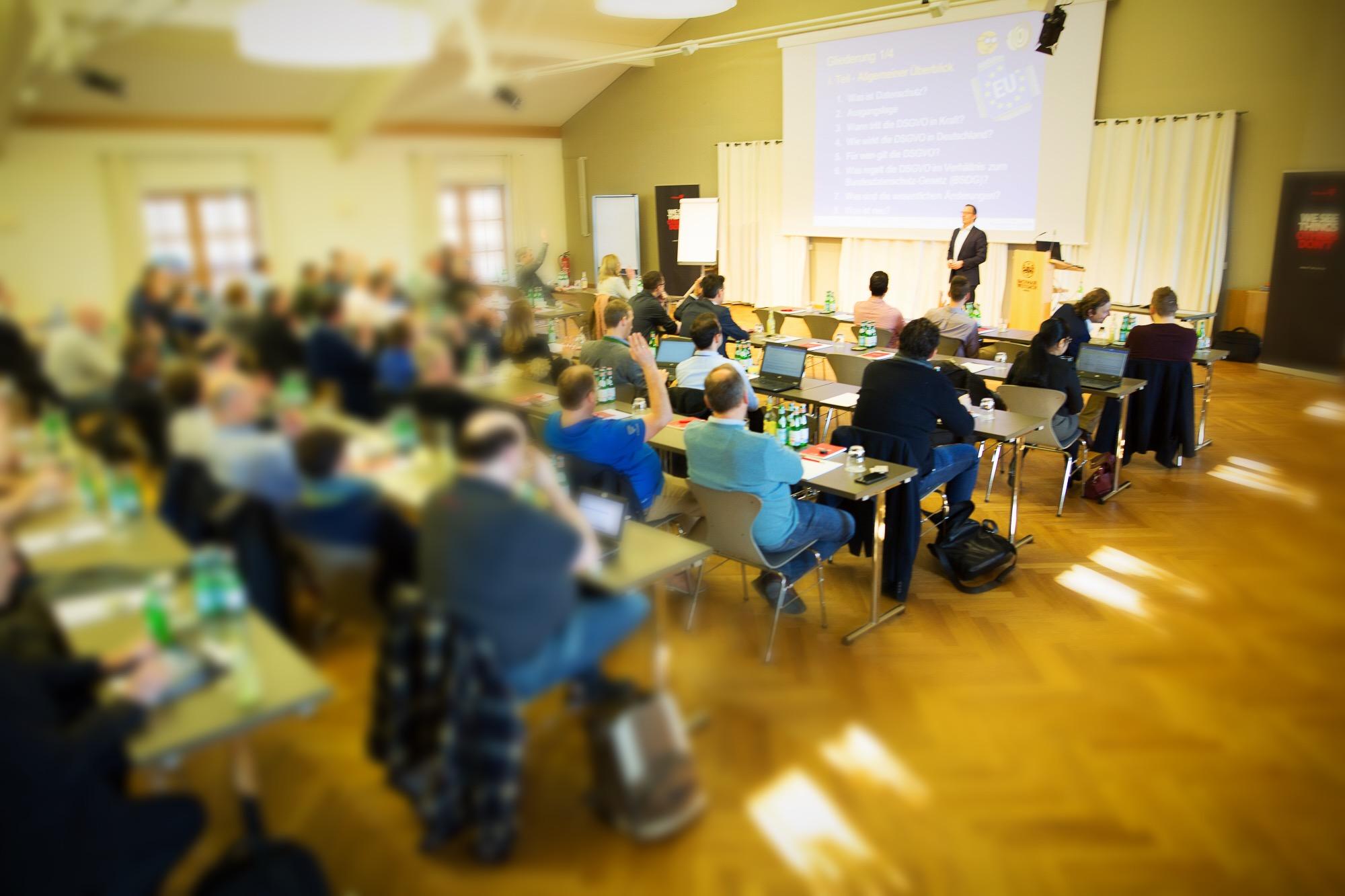 Schulungen und Vorträge zur EU-Datenschutz-Grundverordnung (DSGVO)